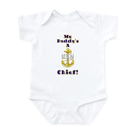 Daddy's A Chief Infant Bodysuit