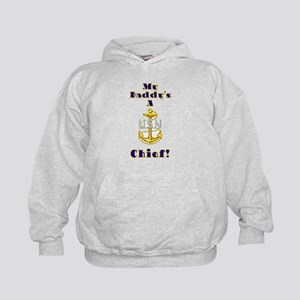 Daddy's A Chief Kids Hoodie