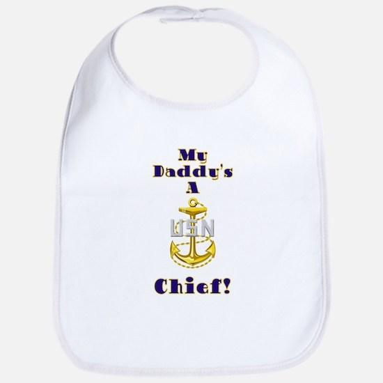 Daddy's A Chief Bib