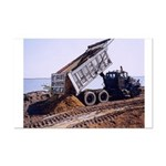 Dump Truck - Mini Poster Print - 11