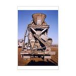 Cement Truck Rear - Mini Poster Print-11
