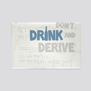 Drink and Derive Rectangle Magnet