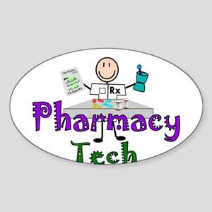 pharmacists II Oval Sticker