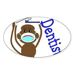 Dentist Oval Decal
