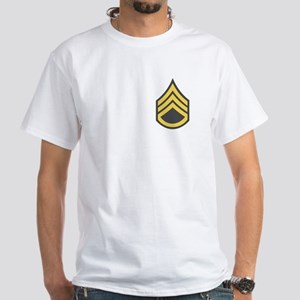 Staff Sergeant White T-Shirt