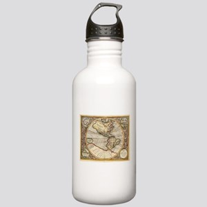 Vintage Map of The Wes Stainless Water Bottle 1.0L