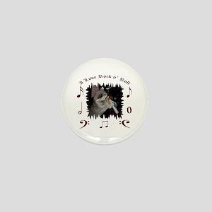 Raccoon Mini Button