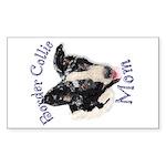 Border Collie Mom's Window Sticker