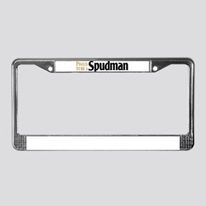 Proud to be a Spudman License Plate Frame
