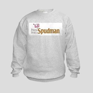 Proud To Be A 'lil Spudman Kids Sweatshirt