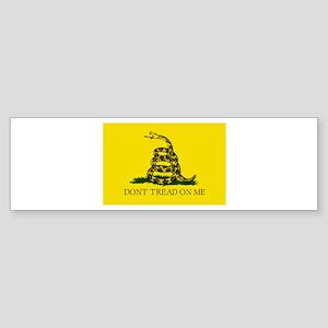 Original Gadsen Flag Bumper Sticker