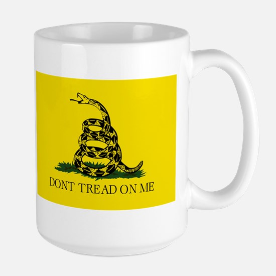 Original Gadsen Flag Large Mug