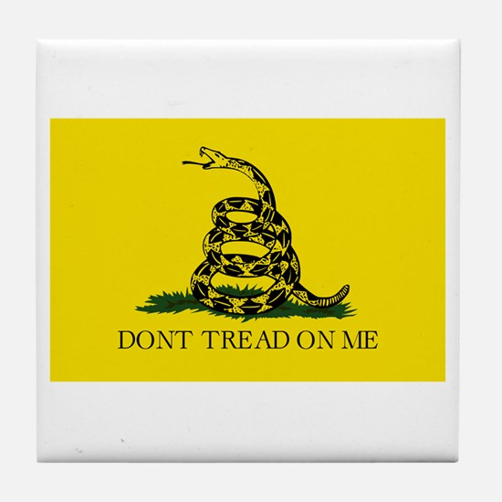 Original Gadsen Flag Tile Coaster