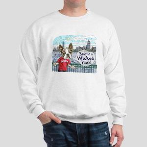 Wicked Boston Terrier Sweatshirt
