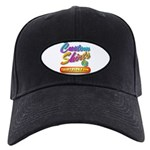 Add Your Message To A Custom Black Cap