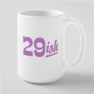 Funny 30th Birthday Large Mug