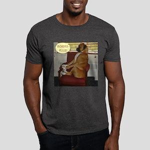 Jackson the Boxer Dark T-Shirt 1