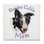 Border Collie Mom's Tile Coaster
