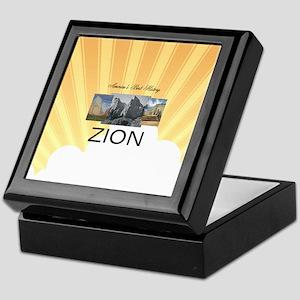 ABH Zion Keepsake Box