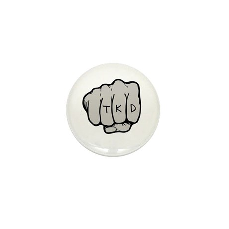 TKD Fist Mini Button (100 pack)