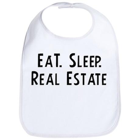 Eat, Sleep, Real Estate Bib