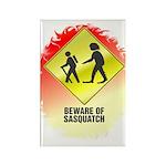 Sasquatch Rectangle Magnet