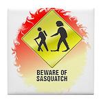 Sasquatch Tile Coaster