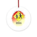 Sasquatch Ornament (Round)