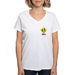 Sasquatch Women's V-Neck T-Shirt
