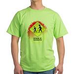 Sasquatch Green T-Shirt