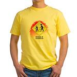 Sasquatch Yellow T-Shirt