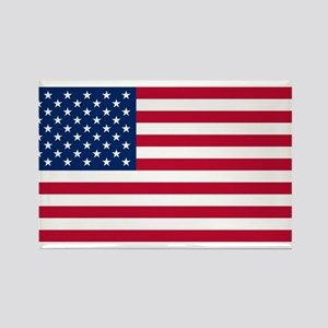American Flag Rectangle Magnet