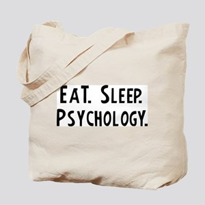 Eat, Sleep, Psychology Tote Bag