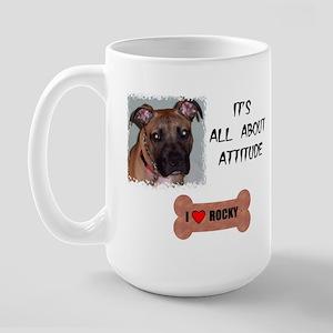 I LOVE ROCKY Large Mug