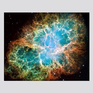 Crab Nebula 2005 Small Poster