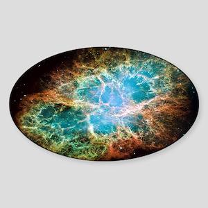 Crab Nebula 2005 Oval Sticker
