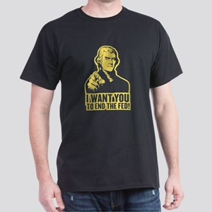 Jefferson End the Fed Dark T-Shirt