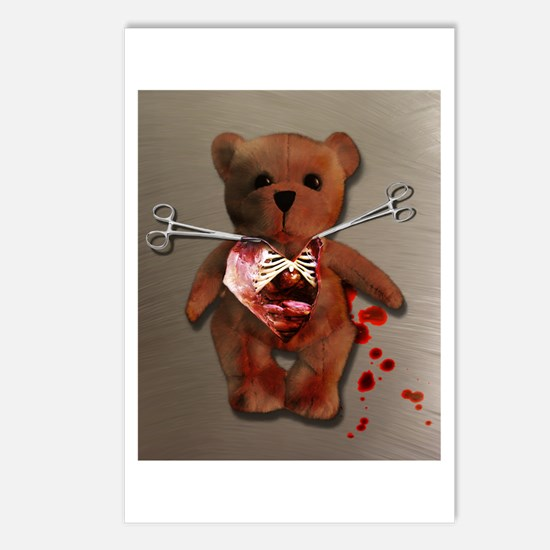 Autopsy of T. Bear Postcards (Package of 8)