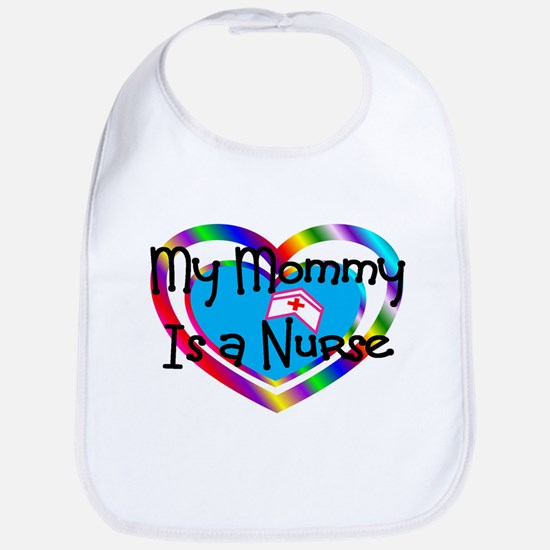 my mommy is a nurse.JPG Baby Bib