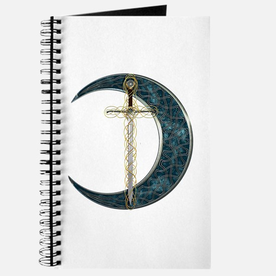 Colorful Celtic Moon and Swor Journal
