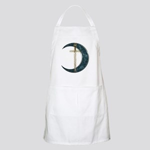 Colorful Celtic Moon and Swor BBQ Apron