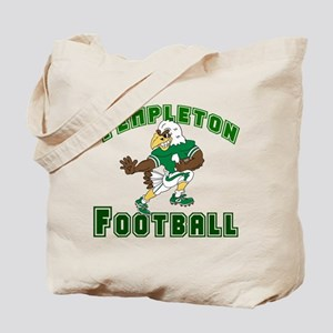 TEMPLETON FOOTBALL (eagle) Tote Bag