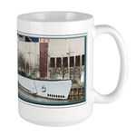 Uss Cobia Large Mugs