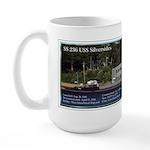 Uss Silversides Large Mugs