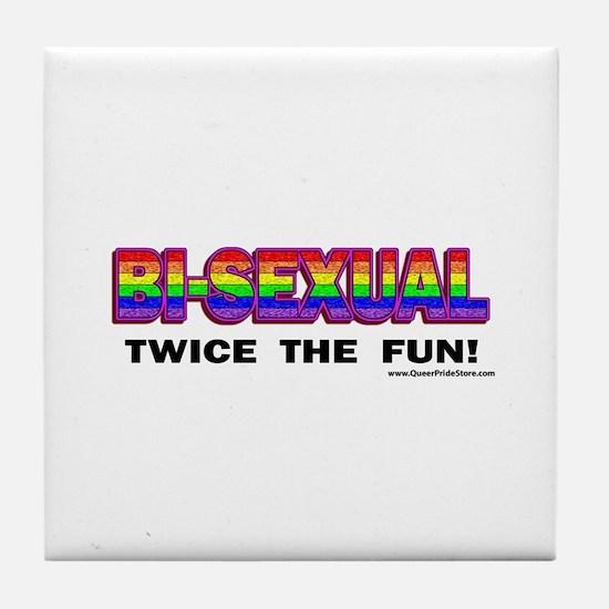 Unique Bisexual Tile Coaster