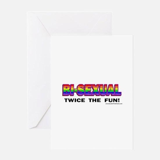 Unique Bisexual Greeting Card