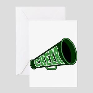 CHEER (megaphone) Greeting Card