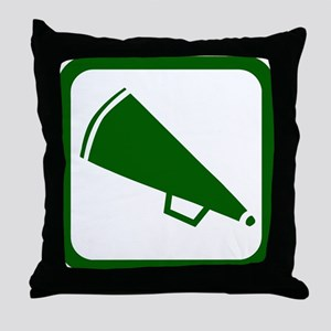 MEGAPHONE (2) Throw Pillow