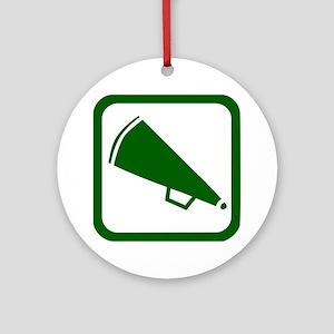 MEGAPHONE (2) Ornament (Round)