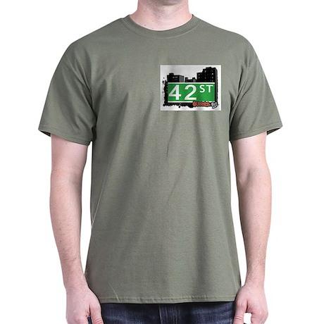 42 STREET, QUEENS, NYC Dark T-Shirt